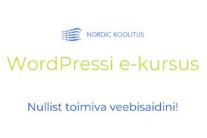 WordPressi e-kursus
